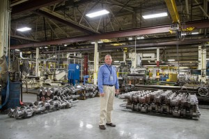 Jim Flemming: Manager of the new General Electric Plant in Wisconsin being forced to shut down.