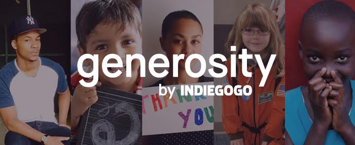 "Generosity advertises itself as a ""platform for human goodness."""